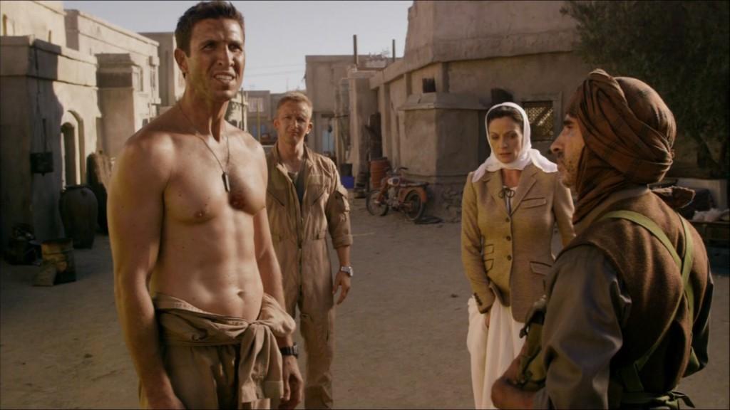 Pablo Schreiber shirtless brink
