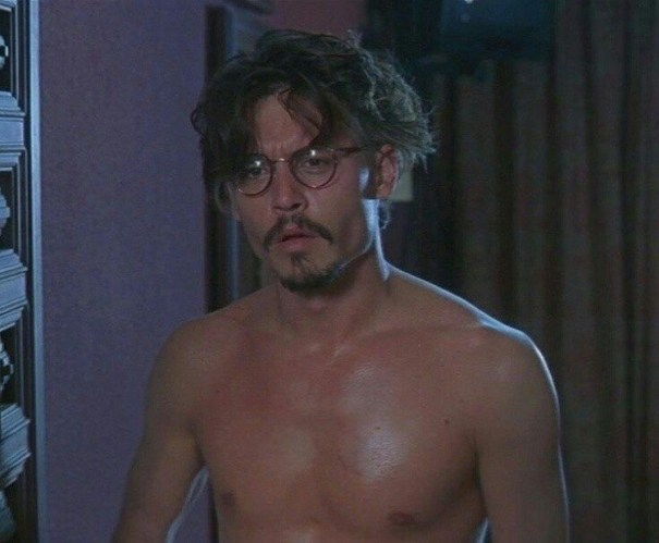 Johnny Depp Shirtless