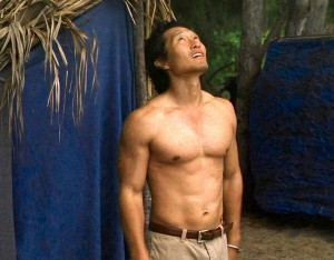 Daniele Dae Kim Shirtless