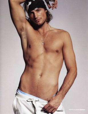 Gabriel Aubry Shirtless