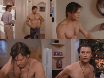 Grant Show Shirtless Collage