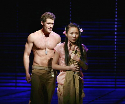 Matthew Morrison Shirtless on Broadway