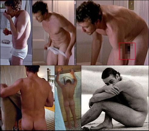 Simon baker naked