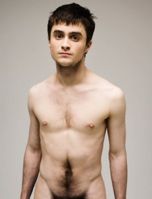 daniel radcliffe 306x400 Naked Male Celebrities