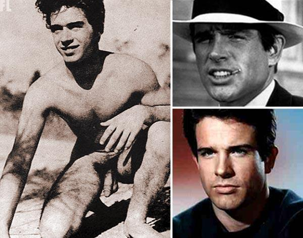 warren beatty nude