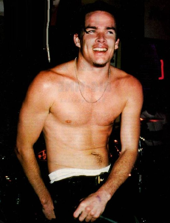 Mark McGrath Shirtless