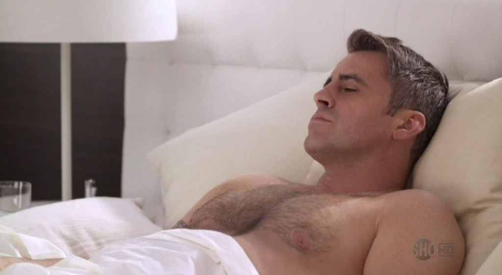 Matt LeBlanc Shirtless on Episodes