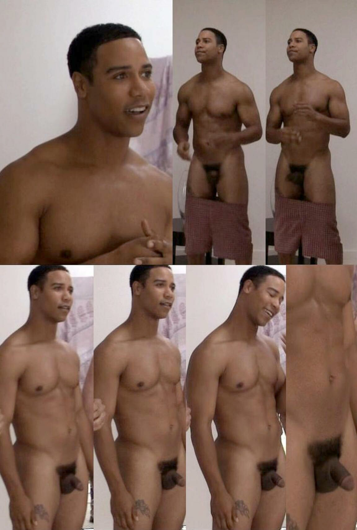 Black male celibrities naked