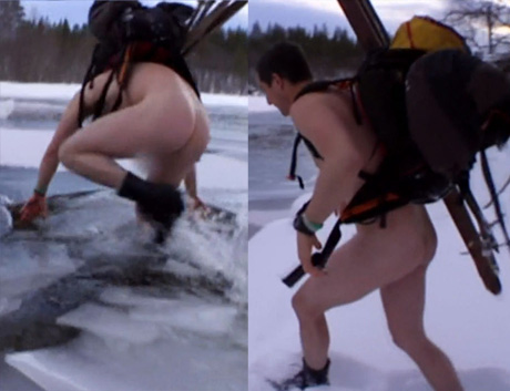 Bear grylls nude in themal image apologise
