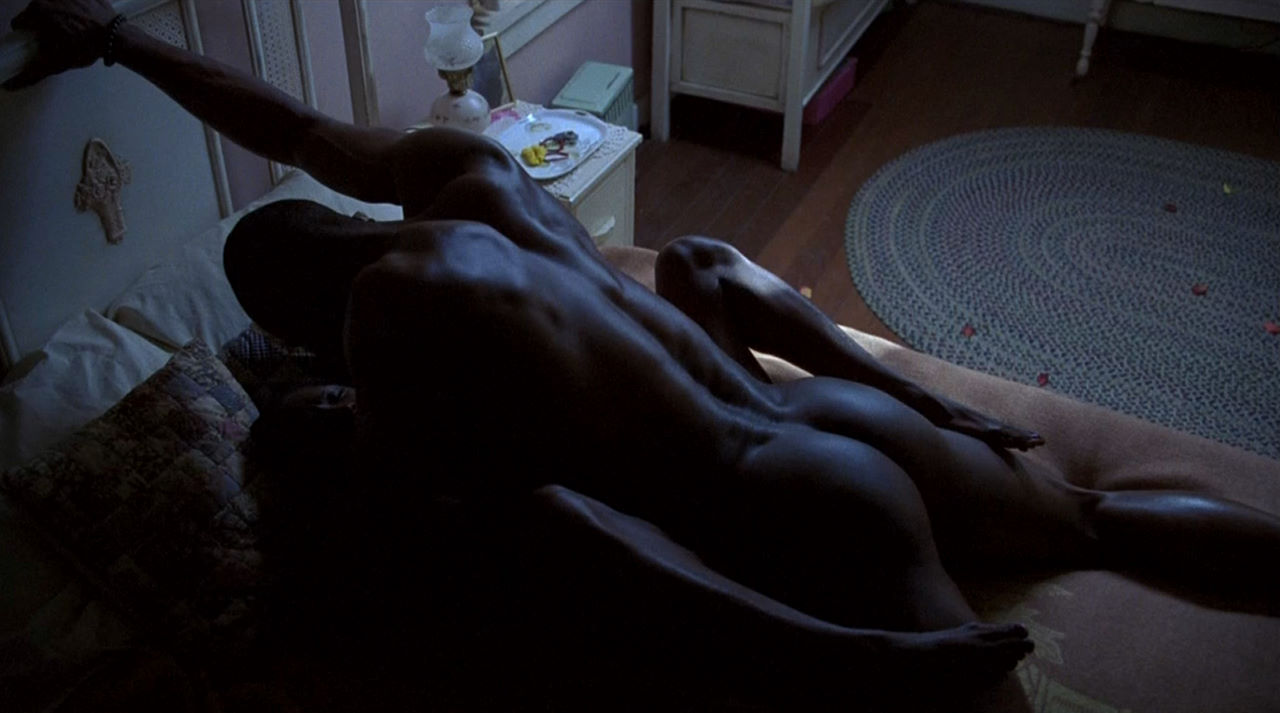 Mehcad Brooks nude and showing off his fine black ass.