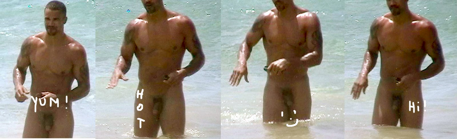 We had totally forgotten about these full frontal nude shots.