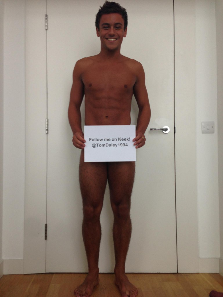 Tom Daley Half Nude