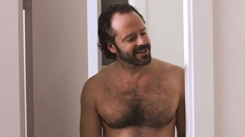 Gil Bellows shirtless