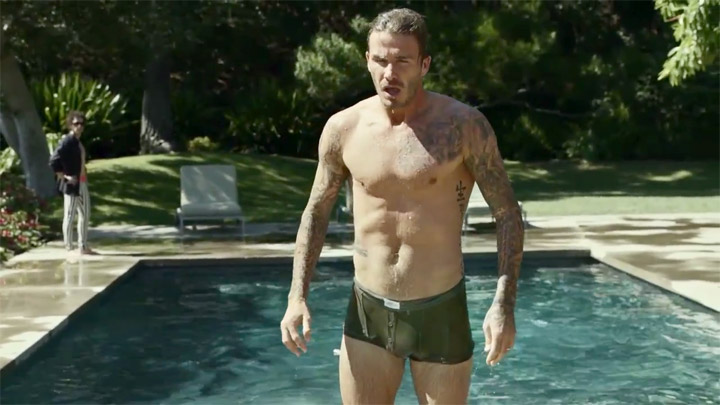 David Beckham Bulge