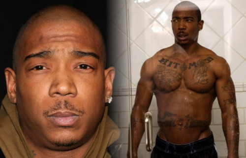 Ja Rule Shirtless and Tattooed