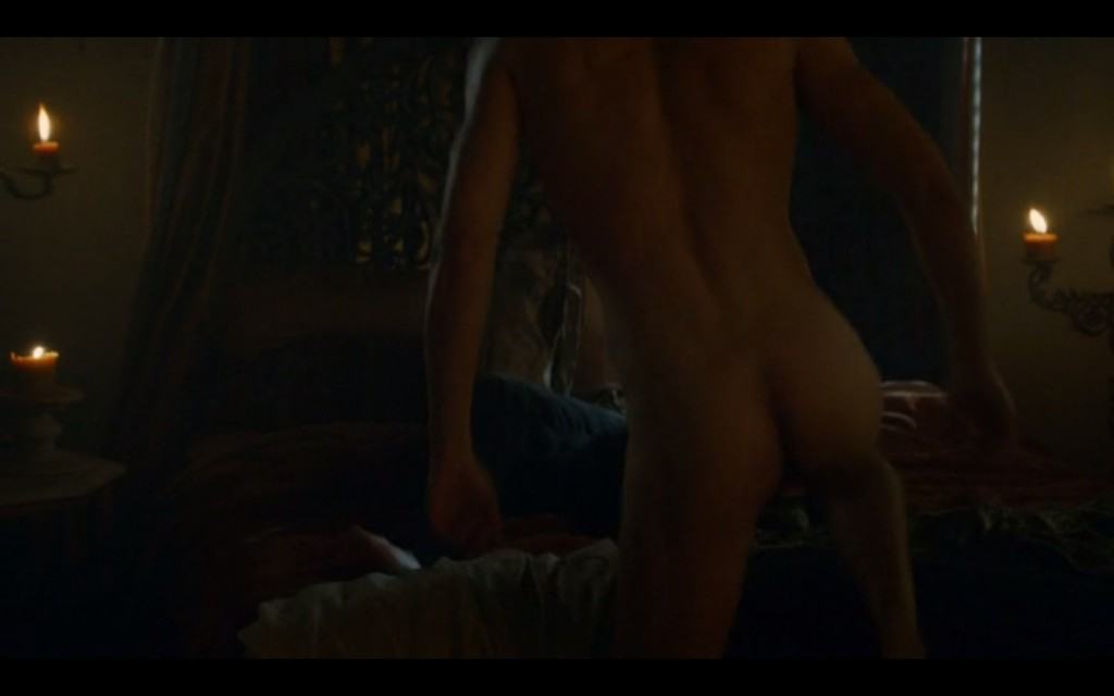 Will Tudor Shows His Butt
