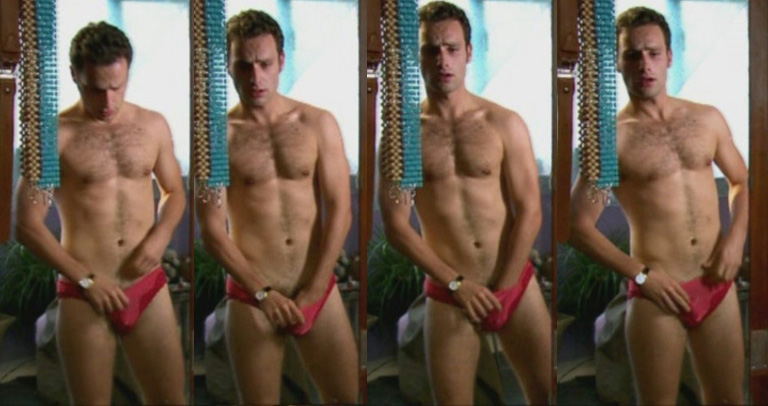 Andrew Lincoln In Speedos