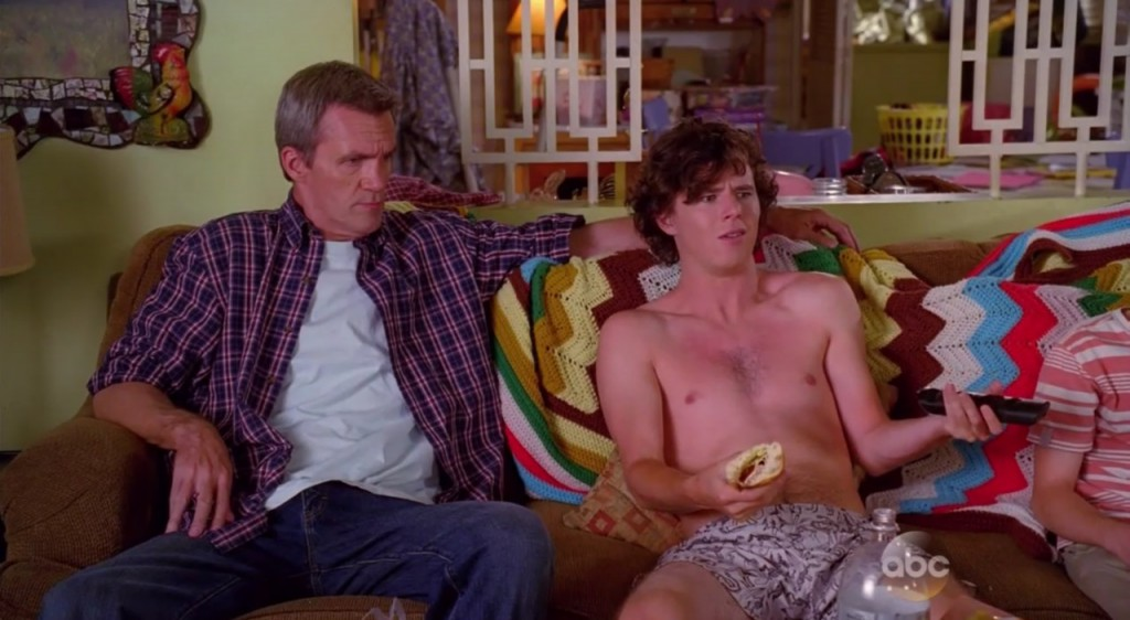 Charlie McDermott In Underwear