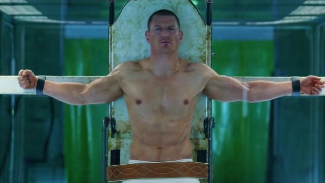 Philip Winchester Shirtless