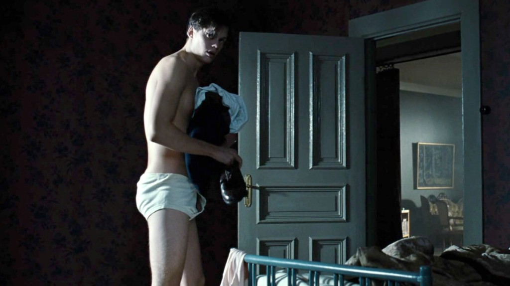 Bill Skarsgard Half Nude In Simple Simon