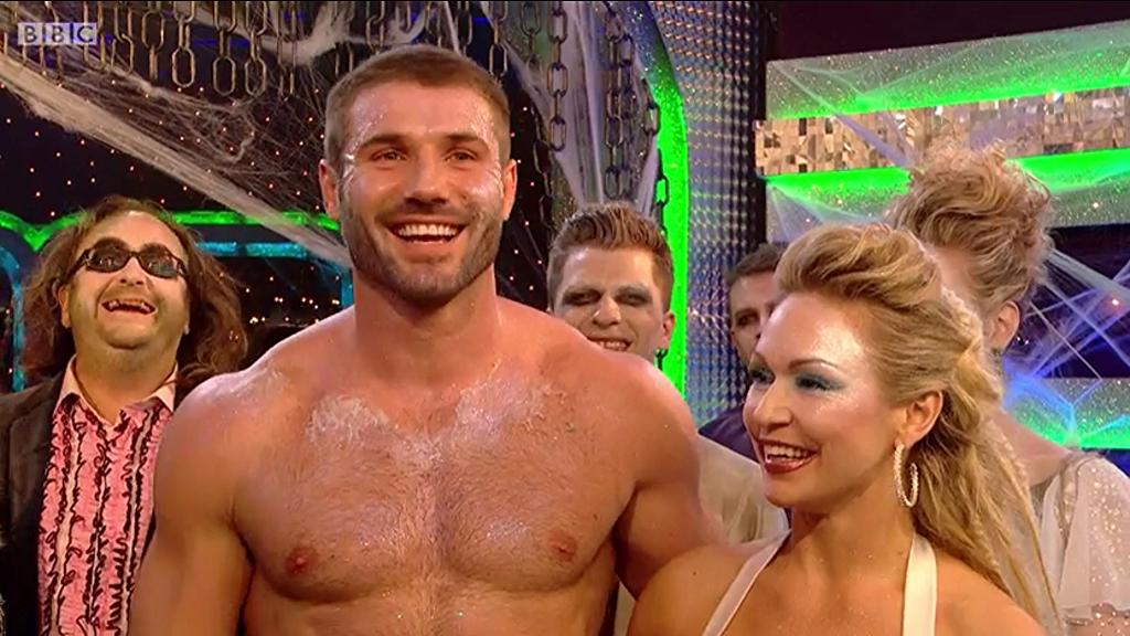 Ben Cohen Sweaty and Shirtless