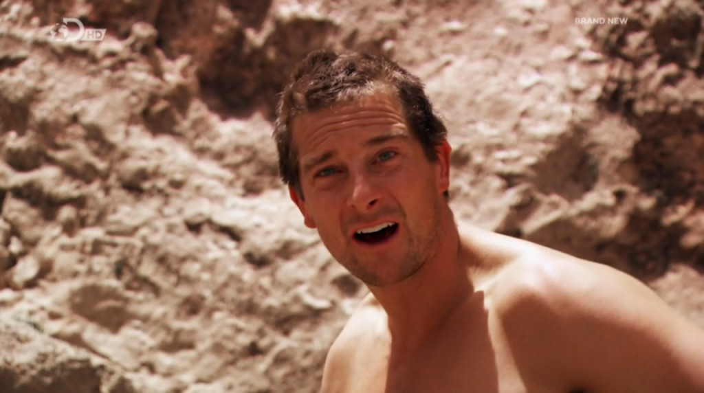 New Full Frontal From Bear Grylls