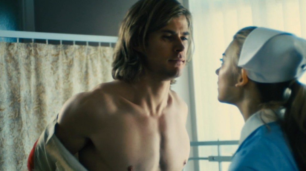 chris hemsworth shirtless rush