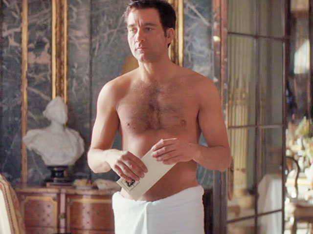 Naked Clive Owen