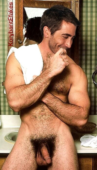 Jake GyllenHaal Hairy and Exposed