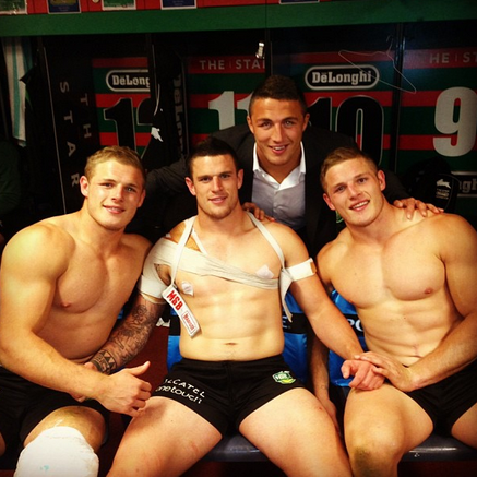 Half Naked Burgess Bros