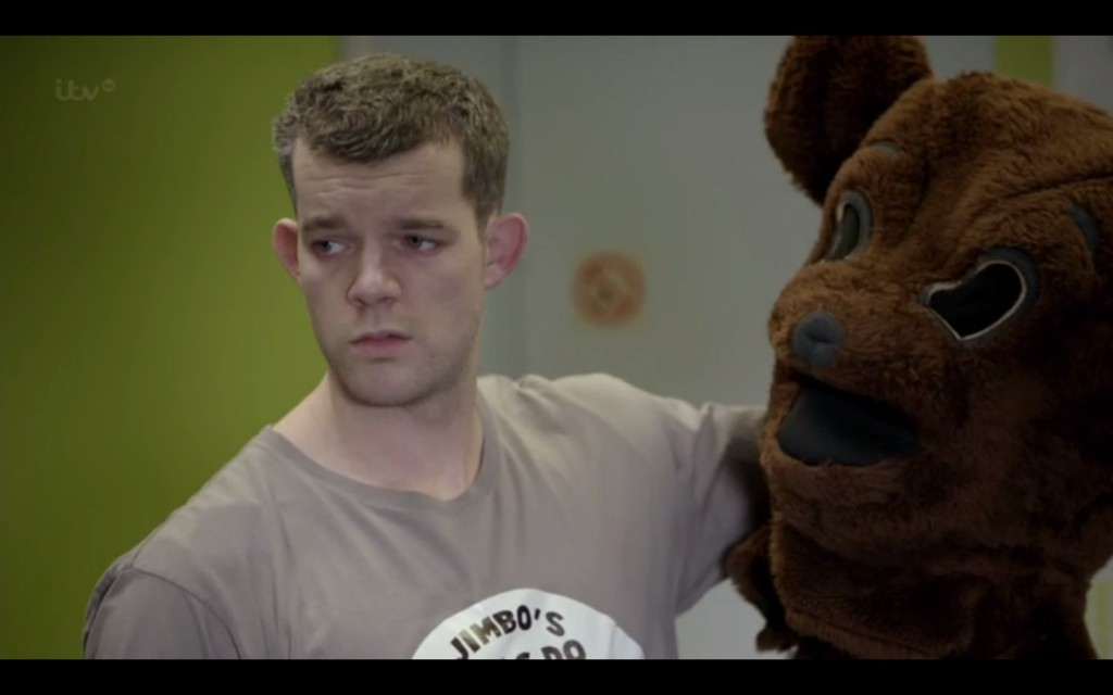 Actor Russell Tovey Gets Nude