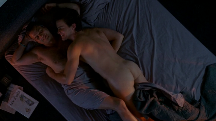 Matt Bomer and Mark Ruffalo gay scene in 'The Normal Heart'