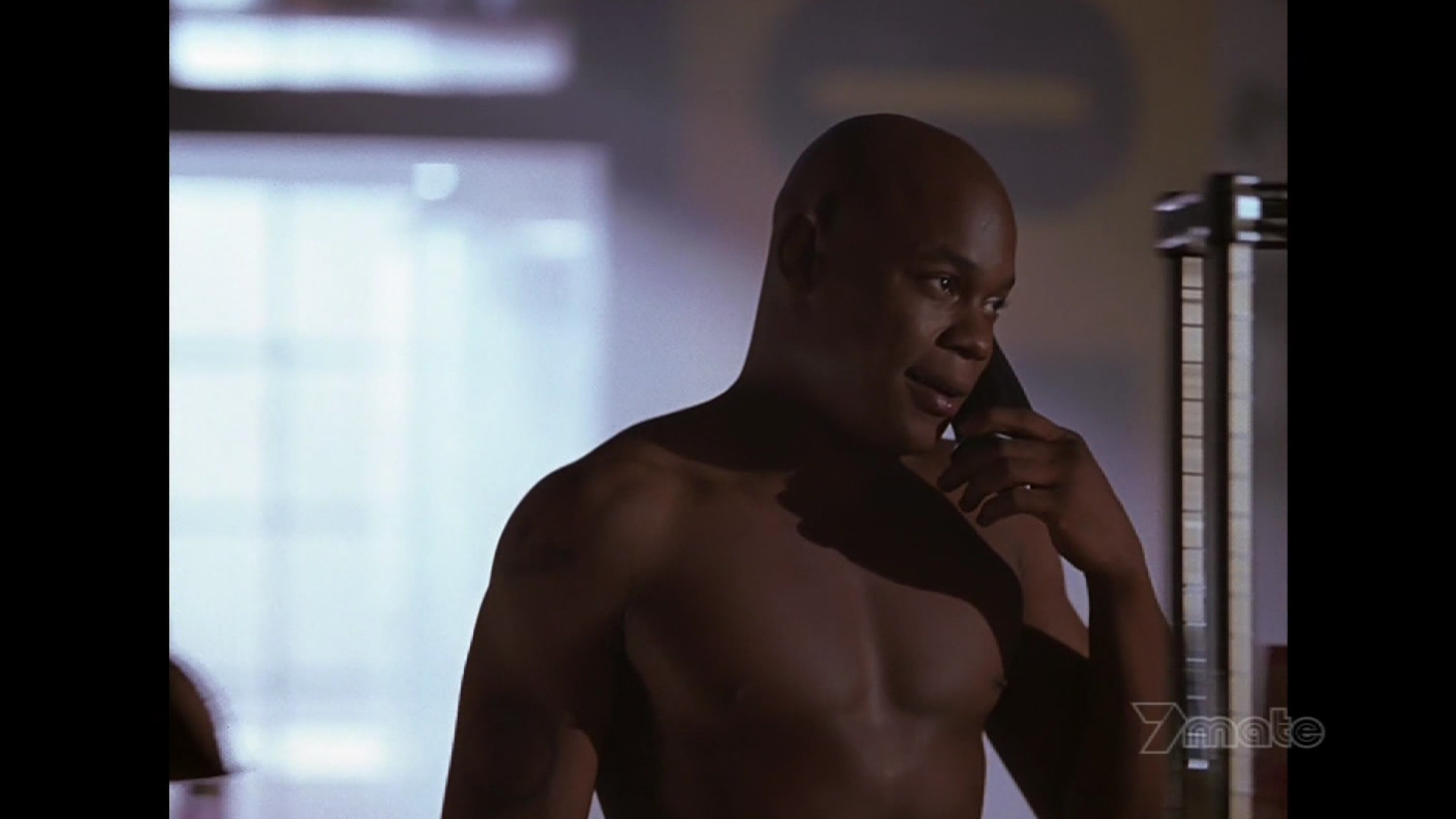 Black male actor nude scene