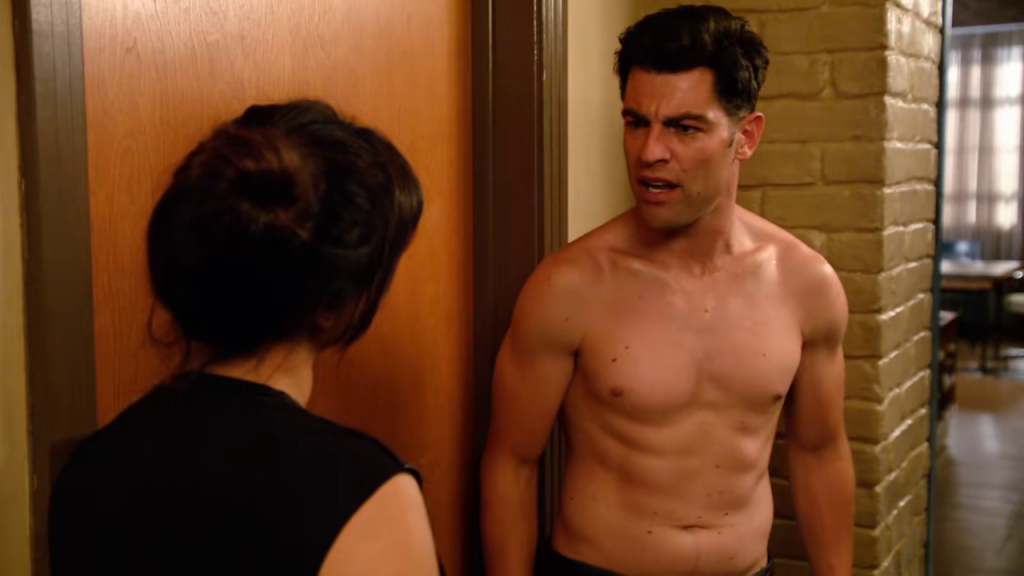 Shirtless Max Greenfield