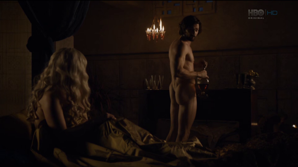 Michiel Huisman Naked on Game of Thrones