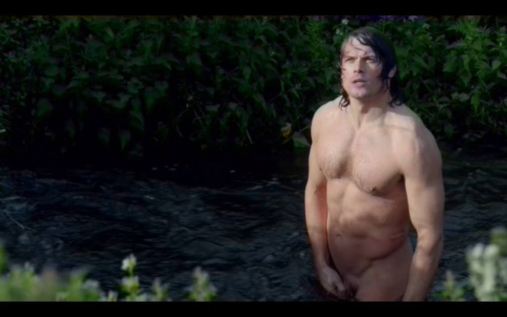 Sam Heughan naked