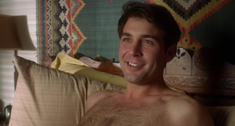 James Wolk Shirtless and Hairy
