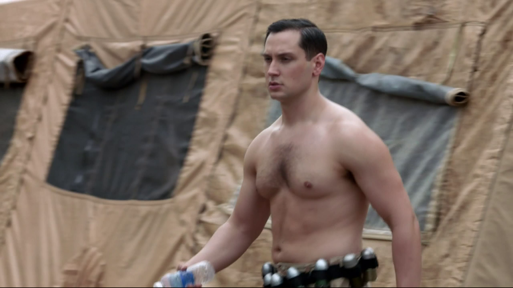 Shirtless Matt McGorry on Orange is the New Black