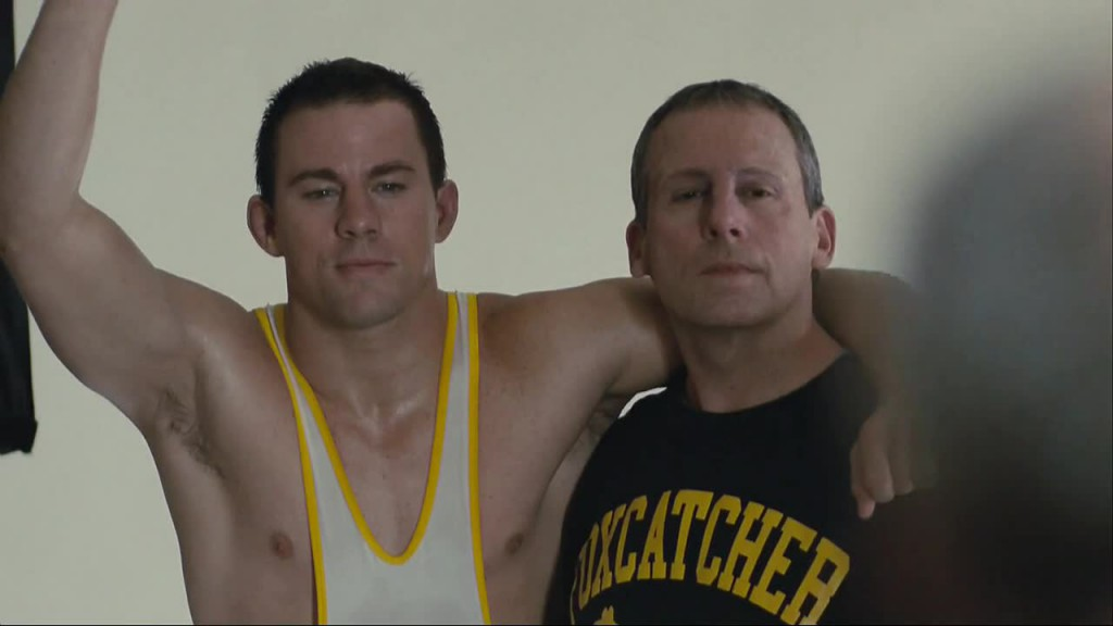 Channing Tatum Nude in Foxcatcher