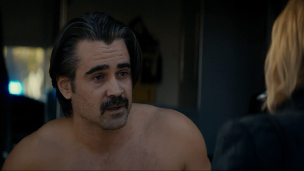 Colin Farrell Shirtless in True Detective