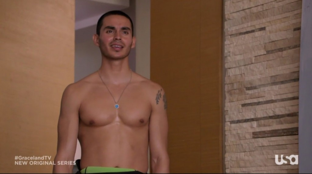 manny montana shirtless