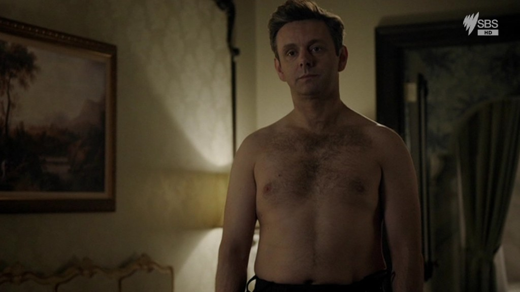Michael Sheen Shirtless