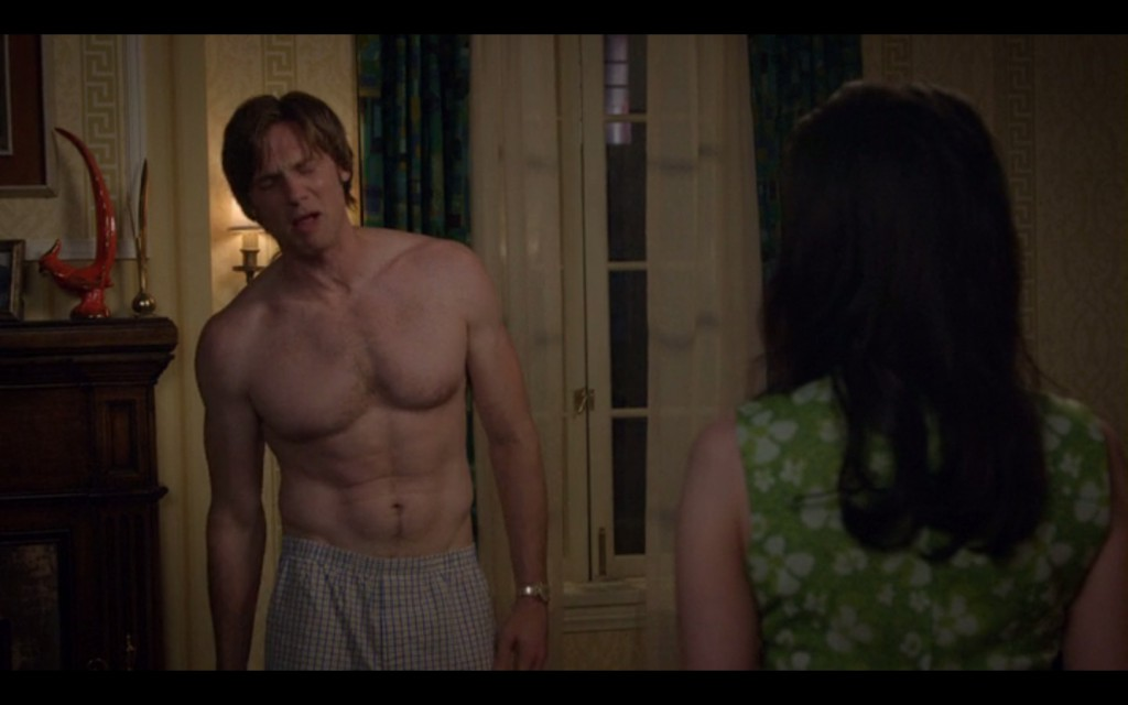 Teddy Sears Shirtless