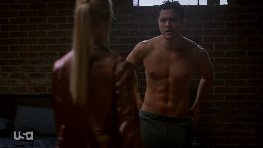 Blair Redford Shirtless