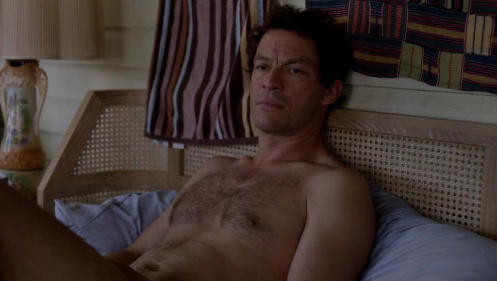 Dominic West Semi Nude on The Affair