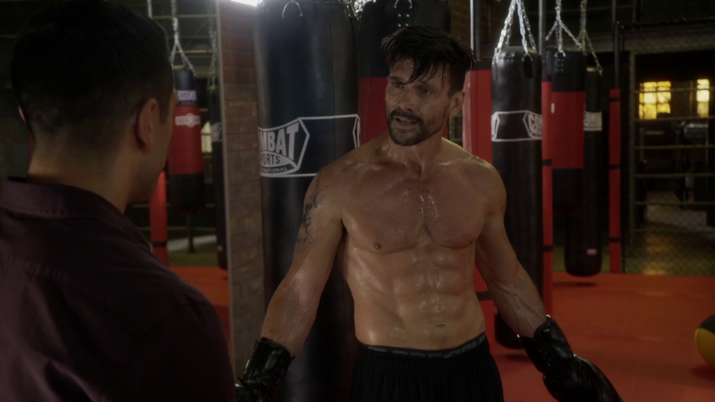 Frank Grillo Shirtless
