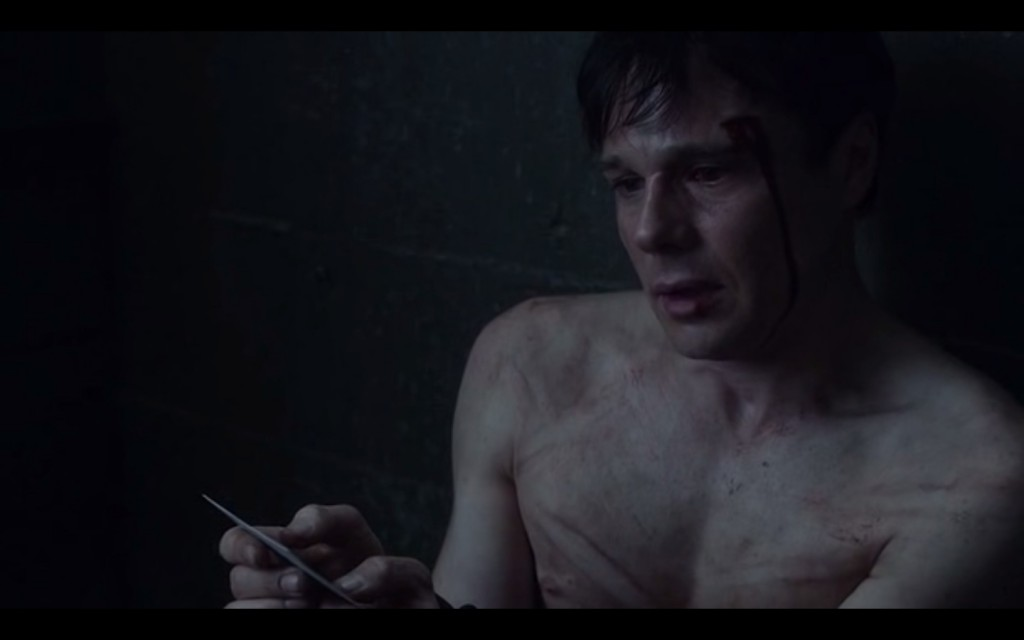 Rupert Evans Shirtless