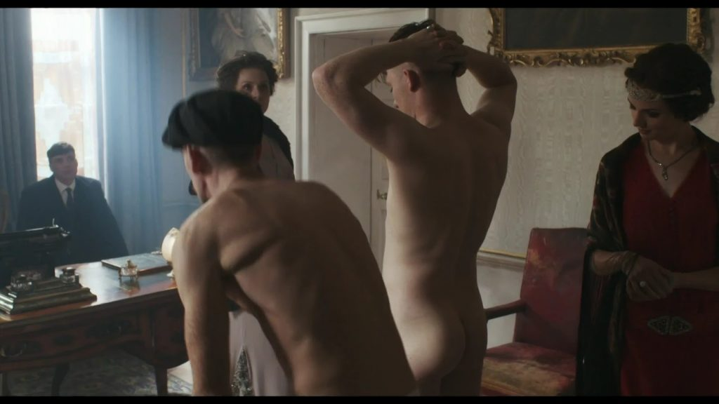 Joe Cole Naked in Peaky Blinders
