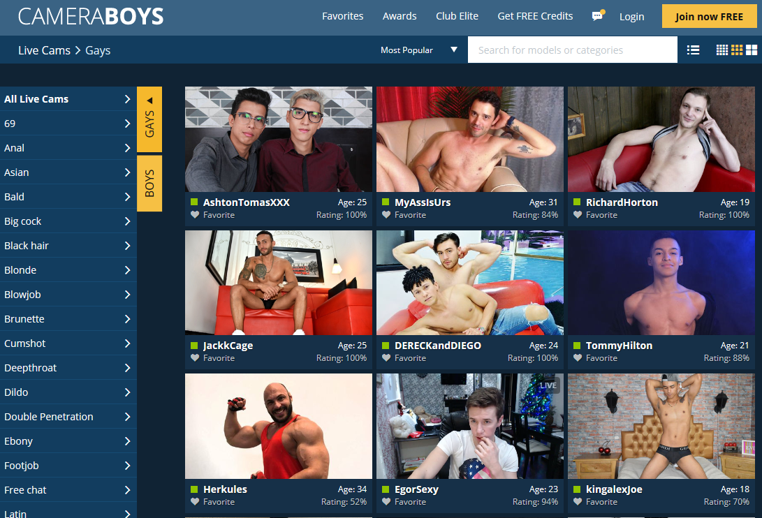 Camera Boys Gay Cams